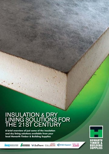 insulation comparisons - Howarth Timber