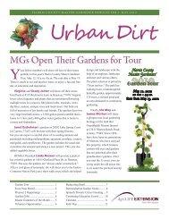 January Harris County Master Gardener Texas A M University