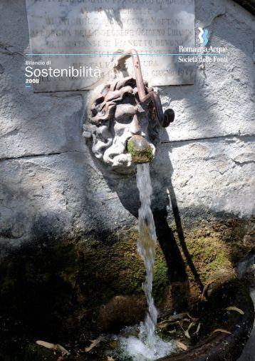Bilancio di Sostenibilità - Romagna Acque