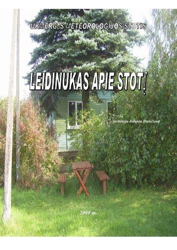 PDF 6 MB - Lietuvos hidrometeorologijos tarnyba