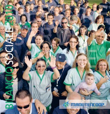 Bilancio sociale 2010 - Manutencoop