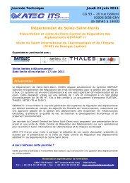 Preprogramme GERFAUT II v0.1 - Atec/ITS France