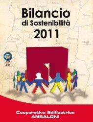 Bilancio Sostenibilità 2011 - Impronta Etica