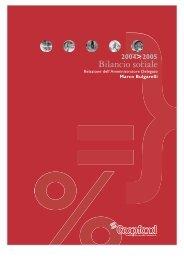 Bilancio sociale 2004/05 - Impronta Etica