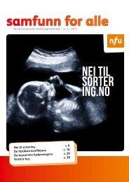 Samfunn for alle (SFA) nr. 2/2012. - NFU