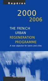 The french urban regeneration programme - Délégation ...