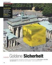 Goldene Sicherheit - dolomiten finanz og
