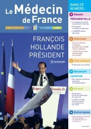 Médecin de France n°1186 - CSMF