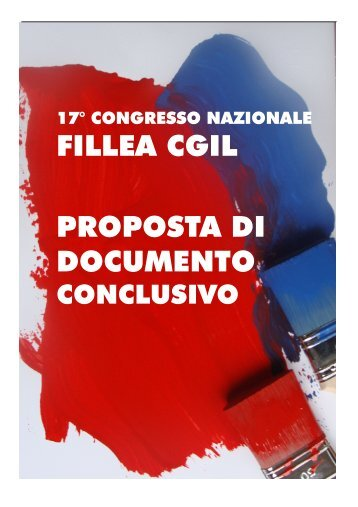 vai...>proposta di documento conclusivo - Fillea Cgil