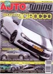 Auto&Tuning; NL - Juni 2009 - Sportec Scirocco