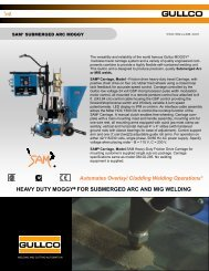 heavy duty moggy® for submerged arc and mig welding - Gullco
