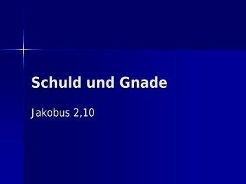 Jakobus 2,10 (GNB) - EFG Hemsbach