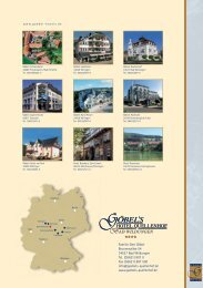 Projekt 2009 neu-1 - Göbel Hotels