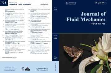 Figure accepted as JFM cover page