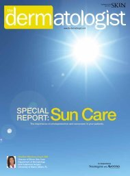 Sun Care - The Dermatologist