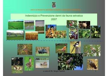 Indennizzo e Prevenzione danni da fauna selvatica 2007