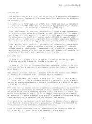Rif. 09G00186.TX/DELMIR Premesso che: - con deliberazione di ...