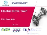 Electric drive train