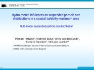 Hydro-meteo influences on suspended particle size ... - LTHE