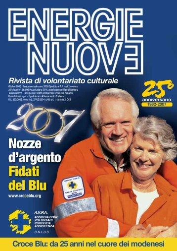 Novembre 2006 - ANPAS Provincia di Modena
