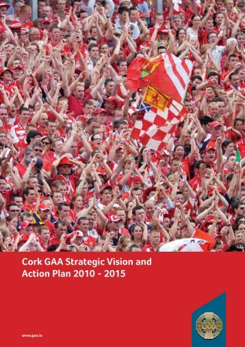 Cork GAA Strategic Vision and Action Plan 2010 ... - Bishopstown GAA