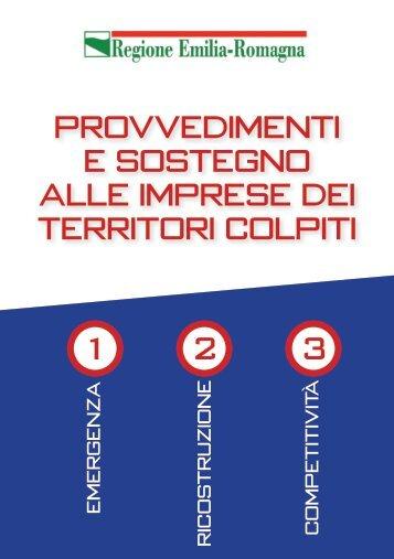 1 Provvedimenti e sostegno alle imprese dei territori colpiti 2 3