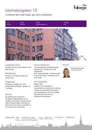 Lästmakargatan 10 - Fabege.se