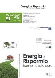 invito convegno presentazione Piano Energetico Comunale