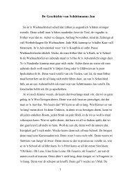 De Geschichte van Schüttmanns Jan - Rostruper Seite