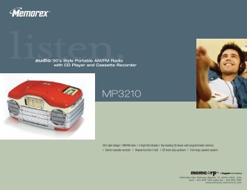 MP3210 - TriStar Distributing