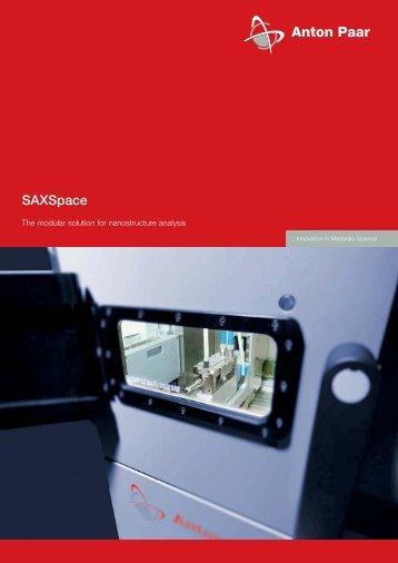 SAXSpace - MEP Instruments