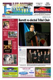 Barrett Re-elected Tribal Chair - East County Gazette