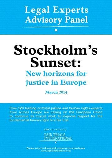 Stockholms-Sunset