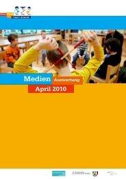 0_Pressespiegel Deckblatt April 2010 - Jedem Kind ein Instrument