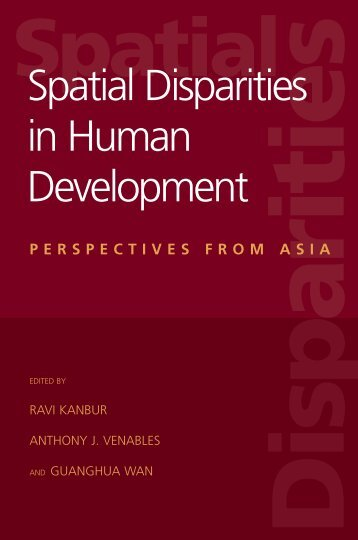 Spatial Disparities in Human Development - United Nations University