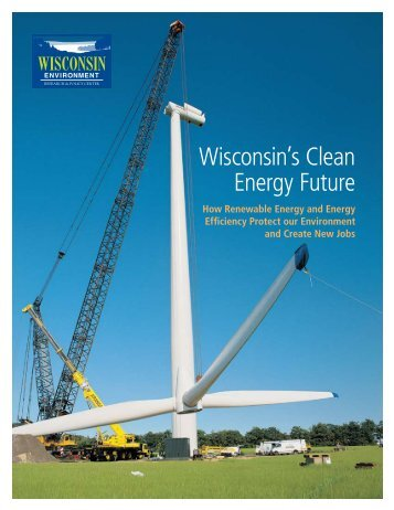Wisconsin's Clean Energy Future - US Climate Action Network