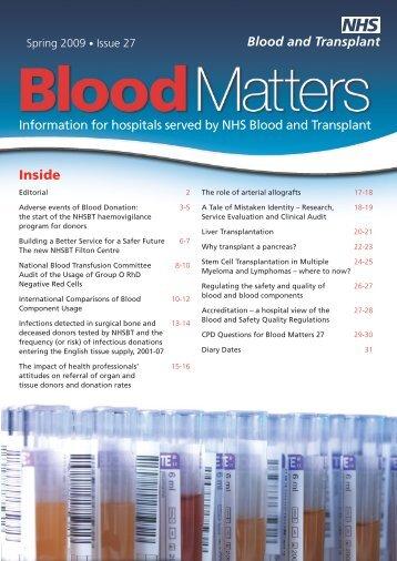 Inside - Give Blood