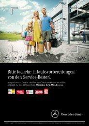 Sommerangebote Pkw - zusätzl. Baureihen - Mercedes-Benz ...