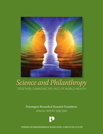 Science and Philanthropy - Pennington Biomedical Research ...