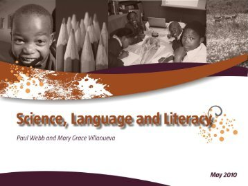 A science and literacy approach towards greater inclusivity
