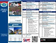 Print Schedule JETS 2013 - SAME Anchorage Post
