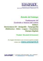 Estratto del Catalogo Trattamento UV Controllo e ... - amba italia srl