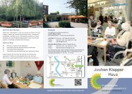 Prospekt zum Jochen Klepper Haus - Evangelisches ...