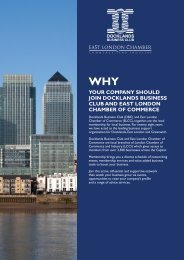 your company should join docklands business club and east london ...