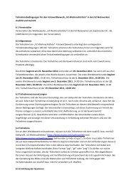 """Teilnahmebedingungen für den Fotowettbewerb """"VZ ... - studiVZ"""