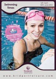Swimming Times - Bridport Leisure
