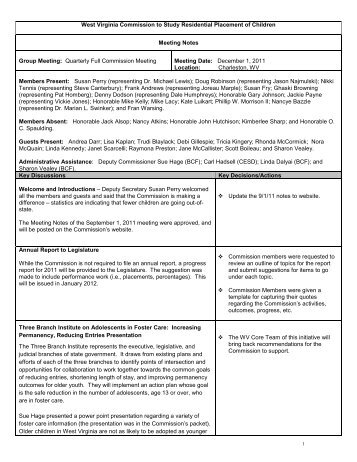 WV Department of Health and Human Resources - DHHR