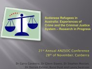 Sudanese refugees in Australia - Australian and New Zealand ...