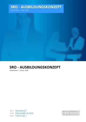Ausbildungskonzept - SRO Treuhand Suisse