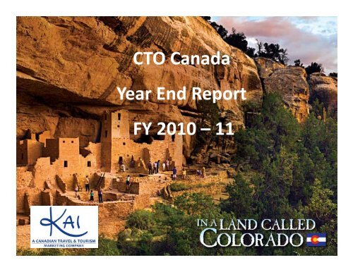 CTO Canada Year End Report FY 2010 – 11